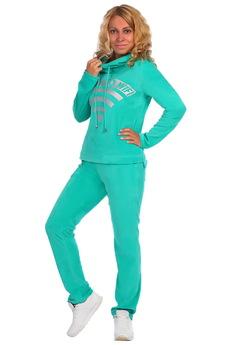 Зеленый велюровый костюм ElenaTex